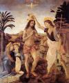 Andrea del Verrocchio ve Leonardo, İsa'nin Vaftizi, 1472-1475