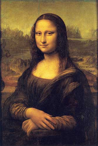 Portrait of Lisa del Giocondo (Mona Lisa), 1503-1506