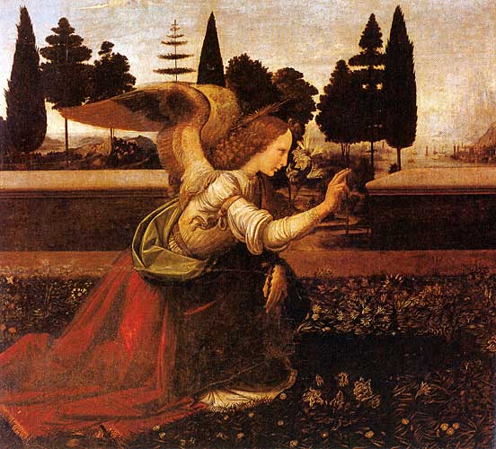 The Annunciation 1452 – 1519 detail