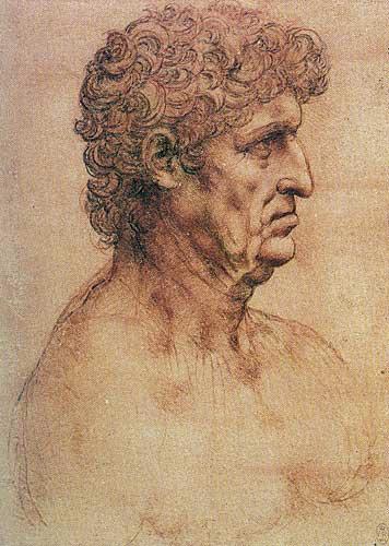 Profilden Yaşlı Erkek Büstü (Gian Giacomo Trivulzio), 1510