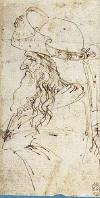 Sapkallı Yaşlı Erkek Profili, 1472