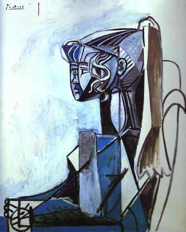 Pablo Picasso - Portrait of Sylvette