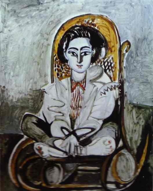 Pablo Picasso - Jacqueline Rocque