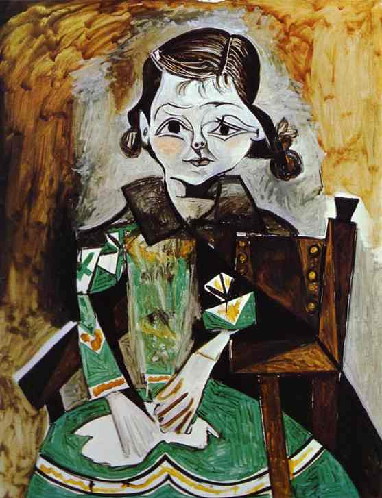 Pablo Picasso - Paloma Picasso. 1956