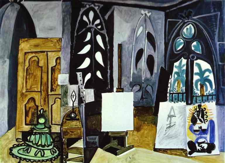 "Pablo Picasso - The Studio of ""La Californie"" at Cannes"