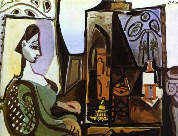 Pablo Picasso - Jacqueline in the Studio