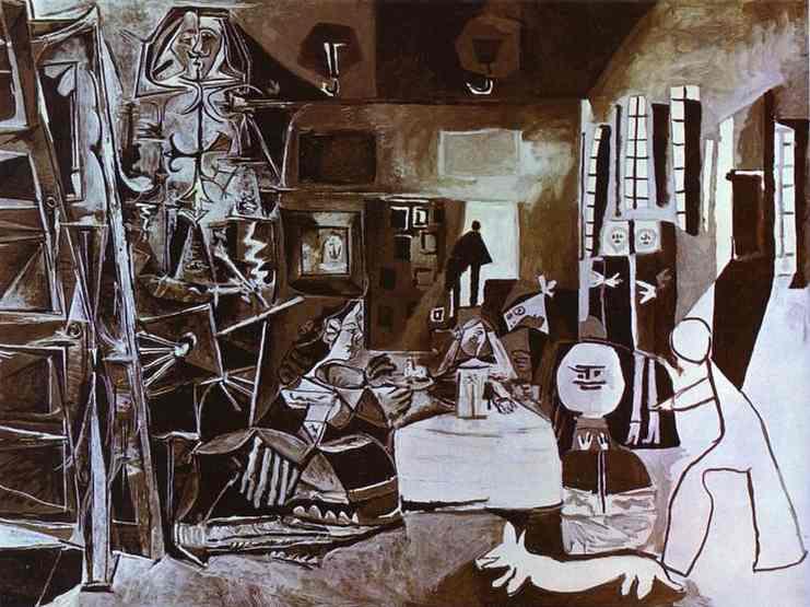 Pablo Picasso - Las Meninas. After Velazquez