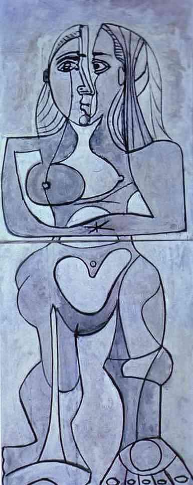 Pablo Picasso - Monolithic nu. 1958.