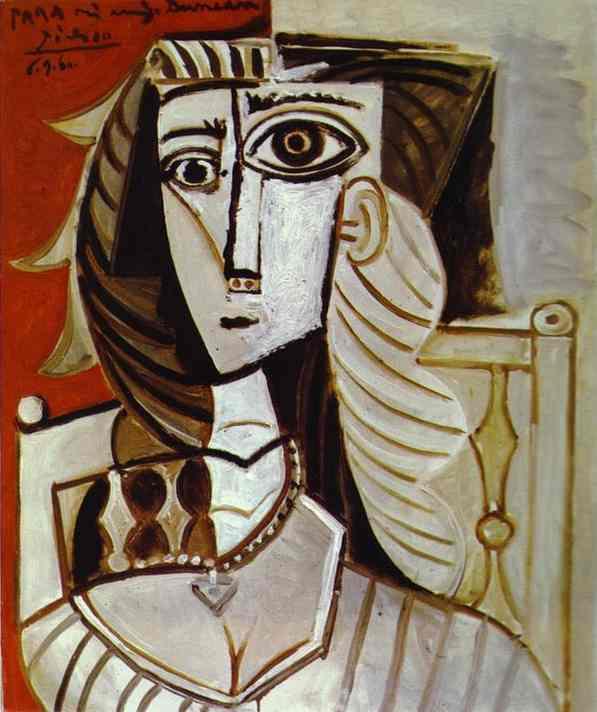 Pablo Picasso - Jacqueline 1960