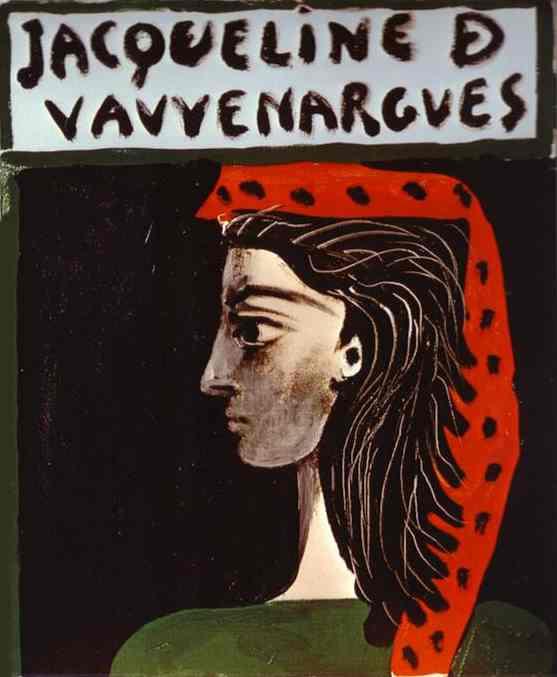Pablo Picasso - Jacklin Vauvenargues
