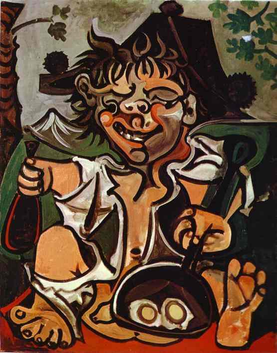 Picasso El Bobo