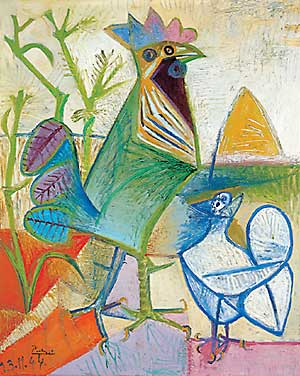 Pablo Picasso - The Cock of the Liberation