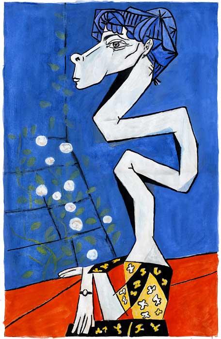 Pablo Picasso - Jacqueline Roque