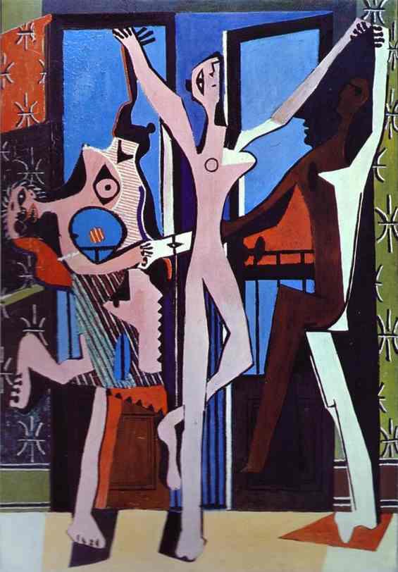Pablo Picasso - Three Dancers