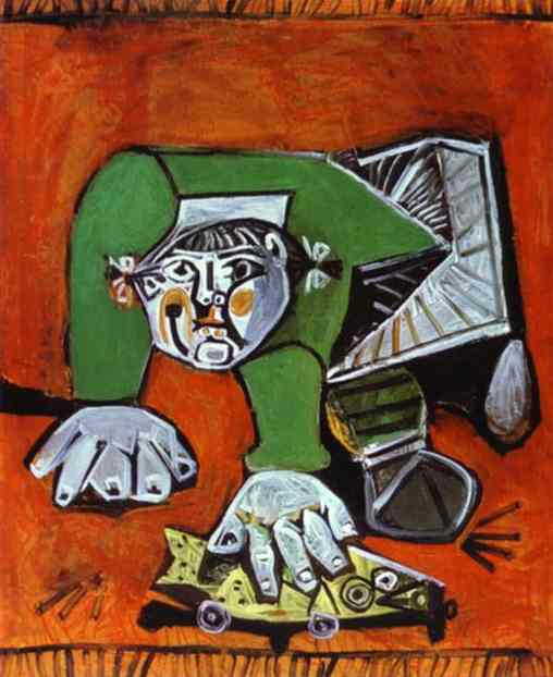 Pablo Picasso - Paloma with Celluloid Fish, 1950