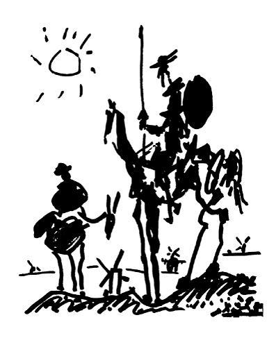 Pablo Picasso - Don Quixote Don Kişot