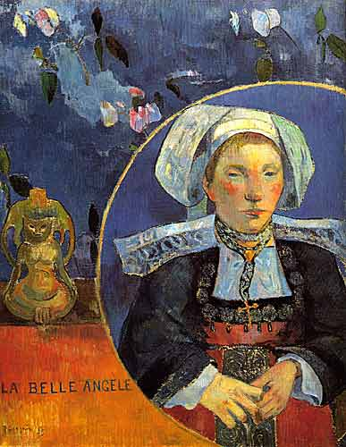 Paul Gauguin 11 La Belle Angele, 1889