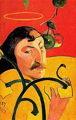 Paul Gauguin 12 Self-Portrait, 1889