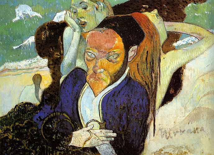 Paul Gauguin 14 Nirvana- Portrait of Meyer de Haan, 1890