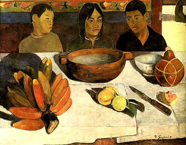 Paul Gauguin 19 Las Repas, 1891