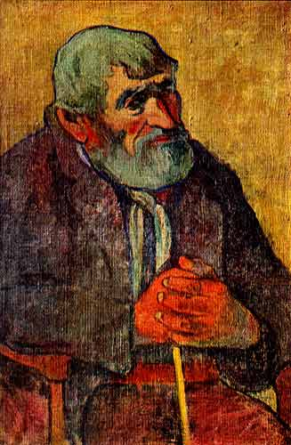 Old Man with Staff, 1893