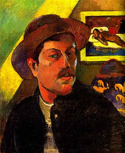 Self-Portrait with Hat, 1893-1894