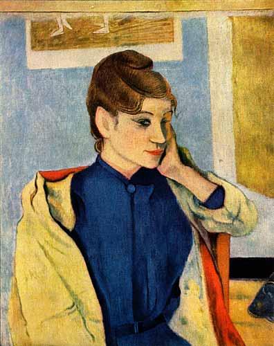 Portrait of Madelaine Bernard, 1888