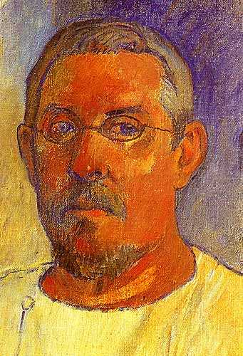 Paul Gauguin Self - Portrait, 1903