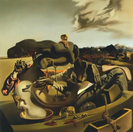 Autumnal Cannibalism 1936 Salvador Dali