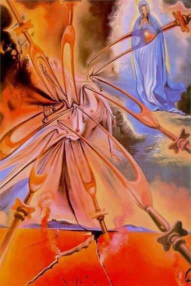 Vision of Fatima 1962 Salvador Dali