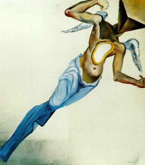 Surrealist Angel 1977 - Sürrealist Melek - Salvador Dali