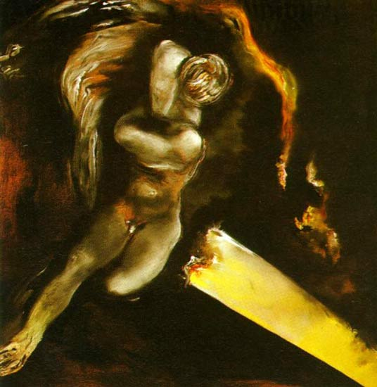 Sleeping Young Narcissus 1980 Salvador Dali