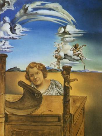 melancholy 1942 Salvador Dali