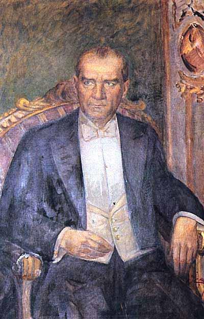 İbrahim Çallı Atatürk Portresi