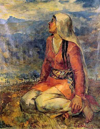 Hatay'ın Anavatana Hasreti, İbrahim Çallı Resimleri ibrahim çallının tabloları portreleri resmi tüm eserleri sanat çalışmaları