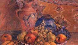 İbrahim Çallı meyva tabağı natürmort