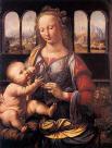 Madonna Benois, 1475-1478, Benois Meryemi, Bakire Benois, Karanfilli Meryem