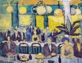 Fikret Mualla 19, A la Coupole, 1957