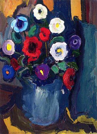 Fikret Mualla Saygı resimleri Vazoda Çiçekler